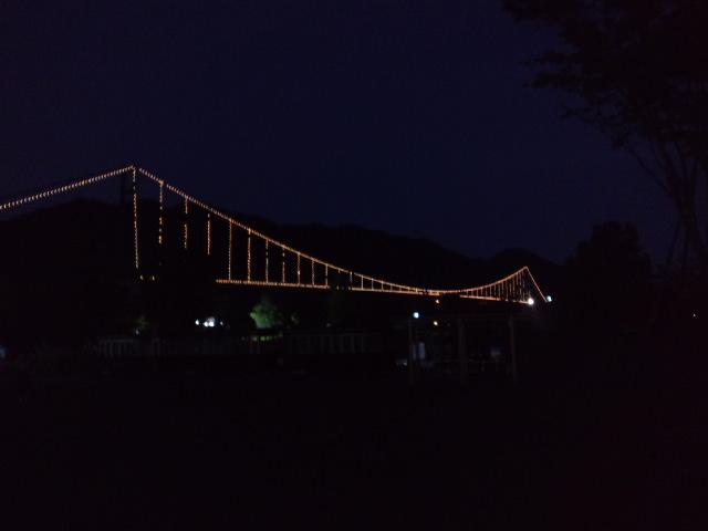 夜のマラソン大会