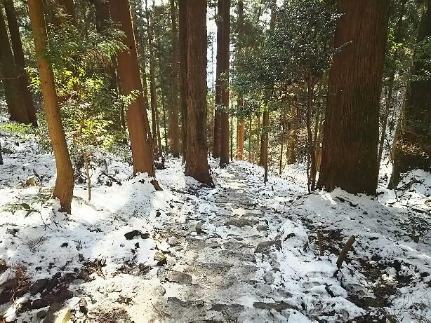 雪の本宮山
