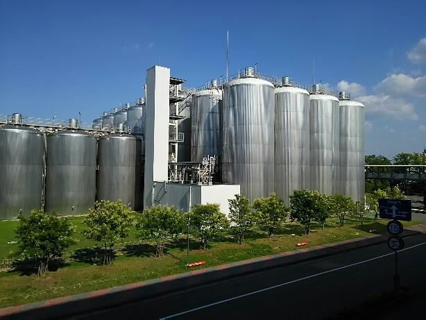 アサヒビール名古屋工場見学