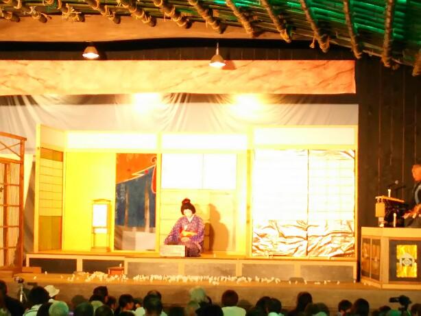 赤坂の歌舞伎舞台