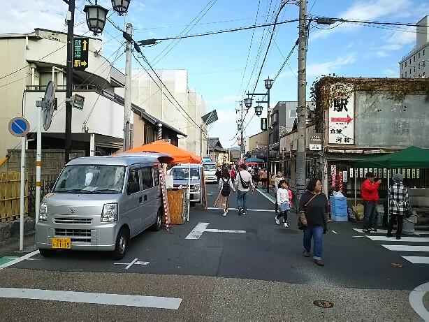 豊川稲荷 縁&軽トラック市