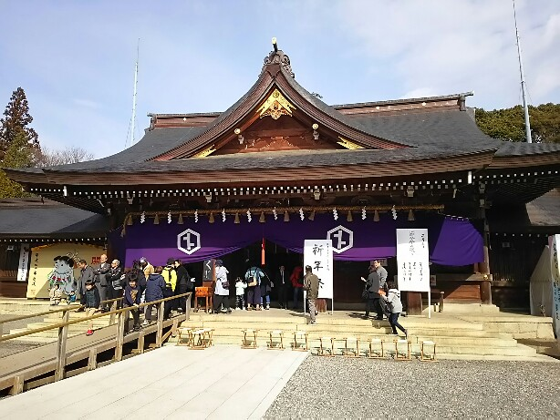 砥鹿神社の節分会