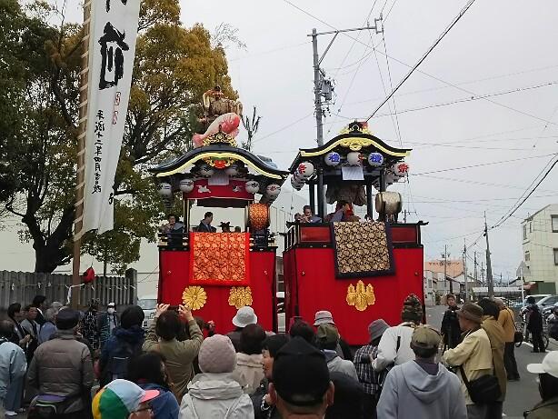 若葉祭り~うなごうじ祭り