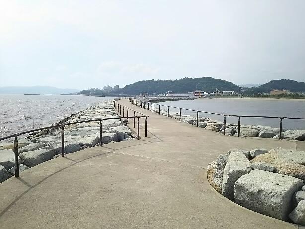 ラグーナと竹島の海